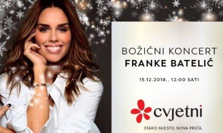 Božićni koncert Franke Batelić