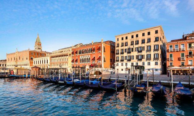 Ikona ljepote Venecijanske arhitekture